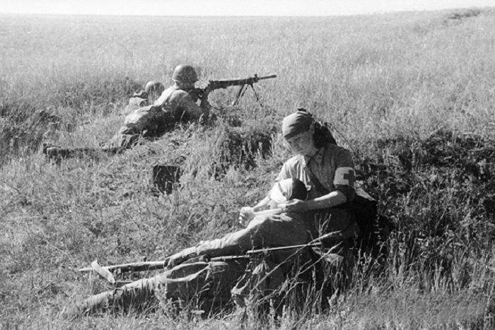 6. Фронтовая медсестра Велика Отечественная война, история, фотографии