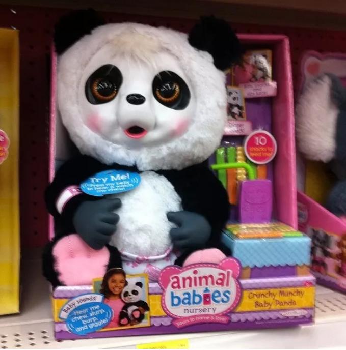 17. И почему эта панда больше похожа на человека, замаскированного под панду? дети, игрушки, куклы, пошлость, страх