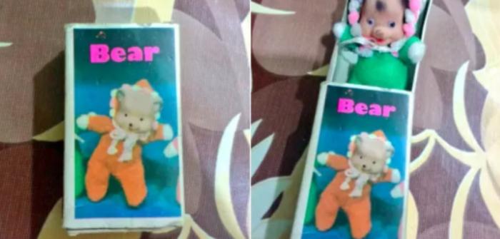 Сюрприз! вместо медвежонка - свинья! дети, игрушки, куклы, пошлость, страх