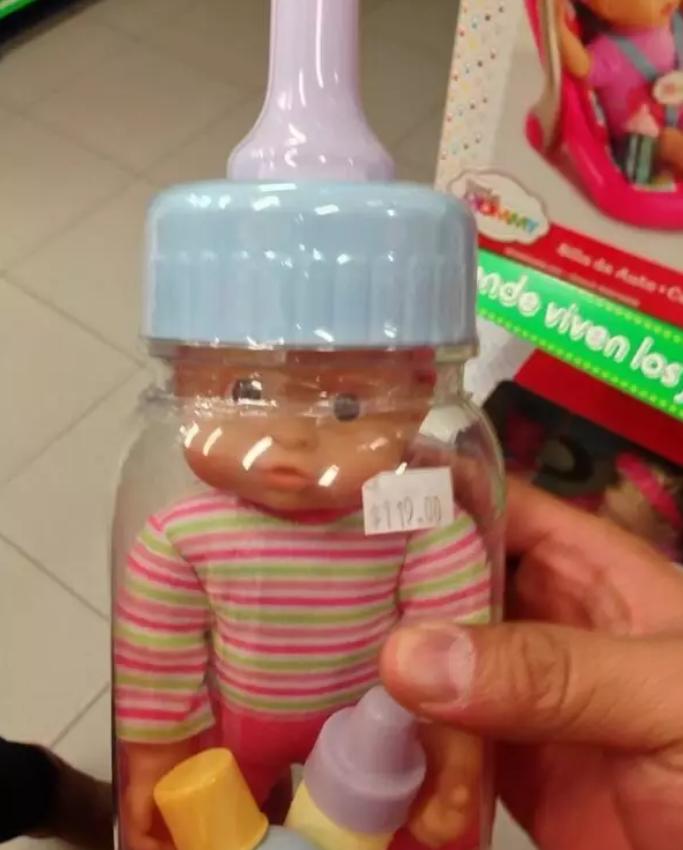 10. Ребенок, который живет в бутылке дети, игрушки, куклы, пошлость, страх