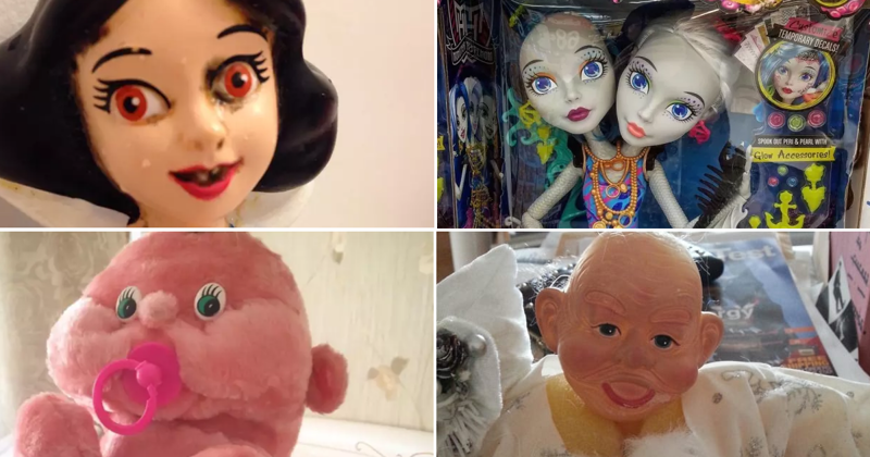 20 странных игрушек, которые заставят детей заикаться дети, игрушки, куклы, пошлость, страх
