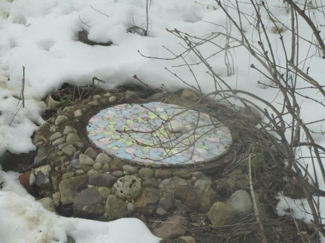7. Собственную мозаику можно использовать для любого места в общем-то: дома или на даче вторая жизнь старых вещей, идеи, интересно, на все руки мастер, поделки, своими руками