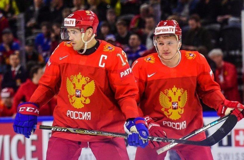 Россия одержала вторую подряд разгромную победу на ЧМ по хоккею австрия, россия, спорт, хоккей
