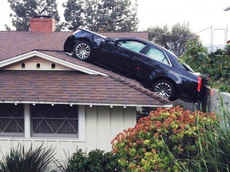 Когда не помнишь, где вечером припарковался вот так случай, всякое случается, нежданчик, неожиданно, прикол, юмор