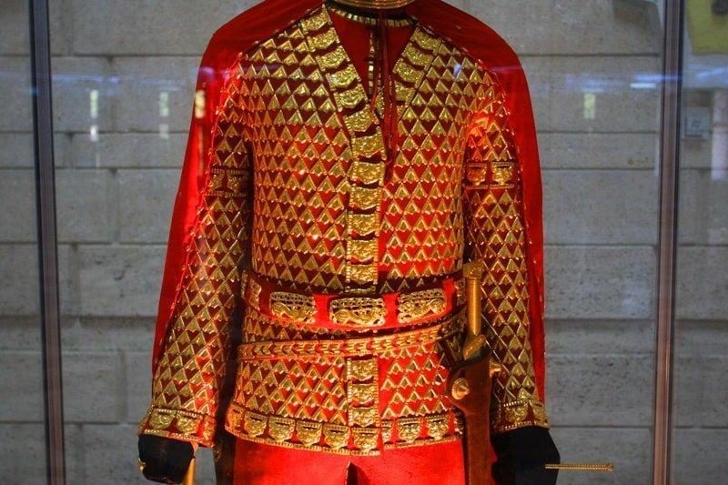 10 фактов о Золотом человеке Золотой человек, археология, казахстан, раскопки, сакский воин