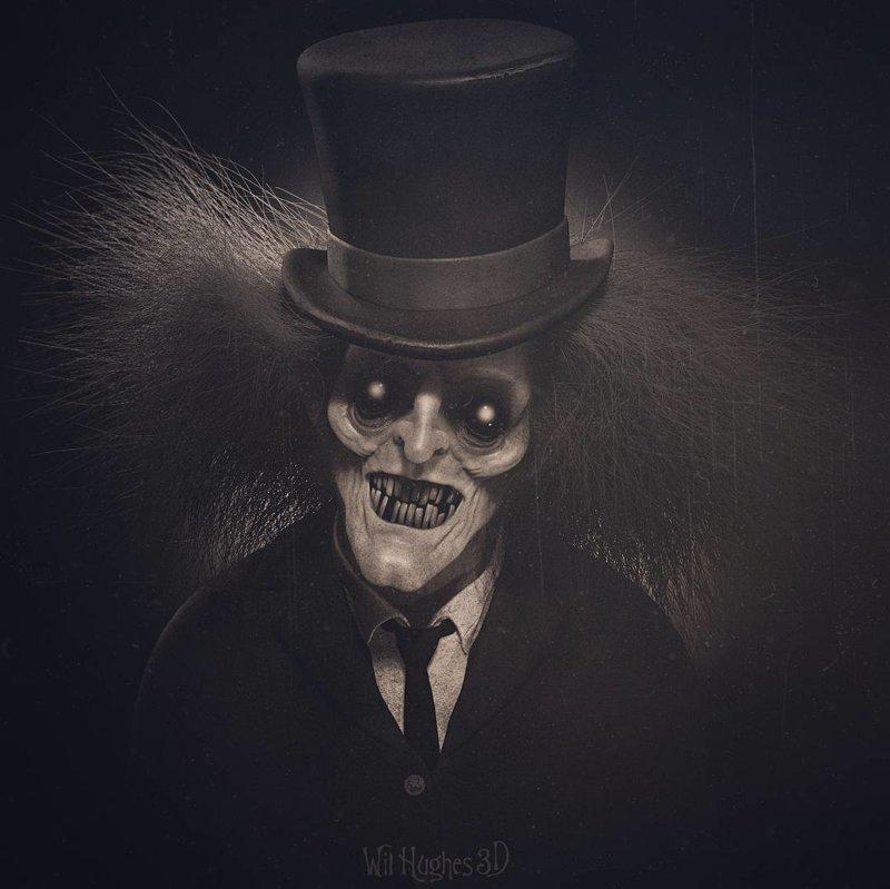 Hyde искусство, персонажи, рисунки, ужастики