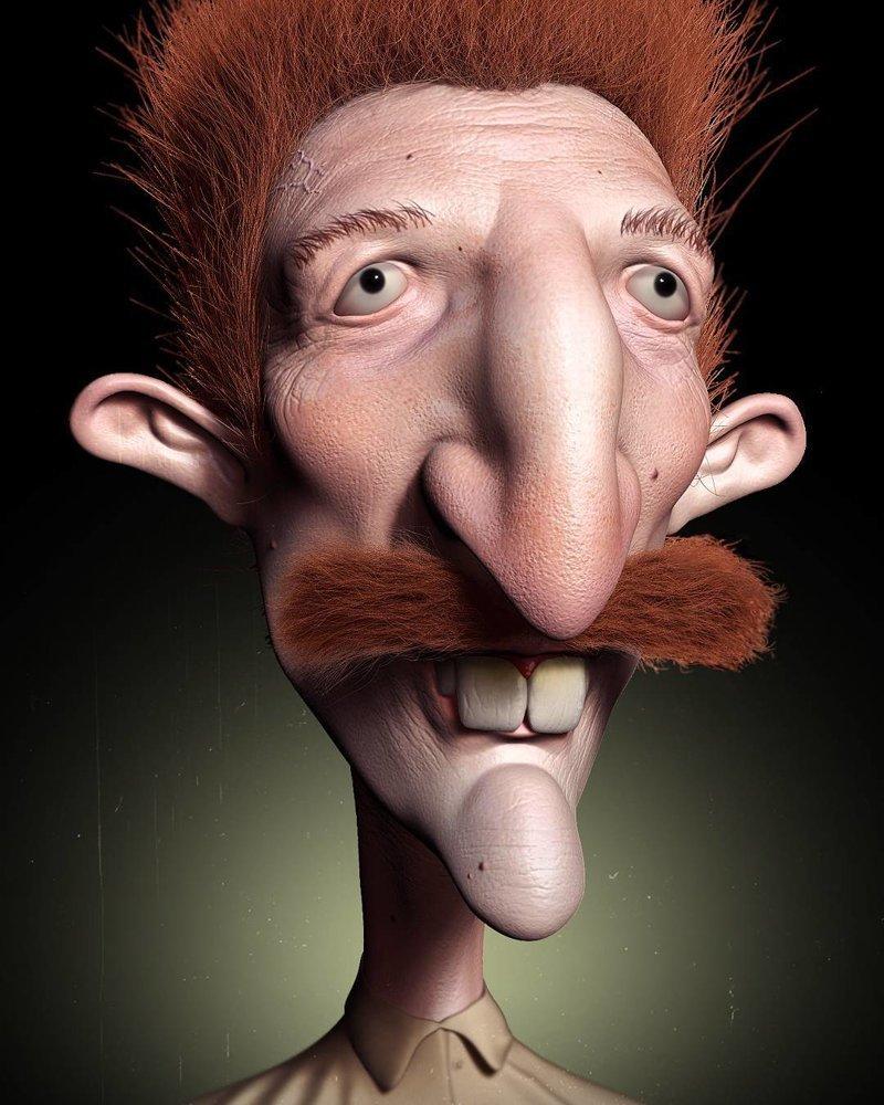 Найджел Торнберри (Дикая семейка Торнберри) искусство, персонажи, рисунки, ужастики