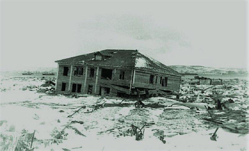 Три волны. 1952 год, Северо-Курильск, трагедия, цунами