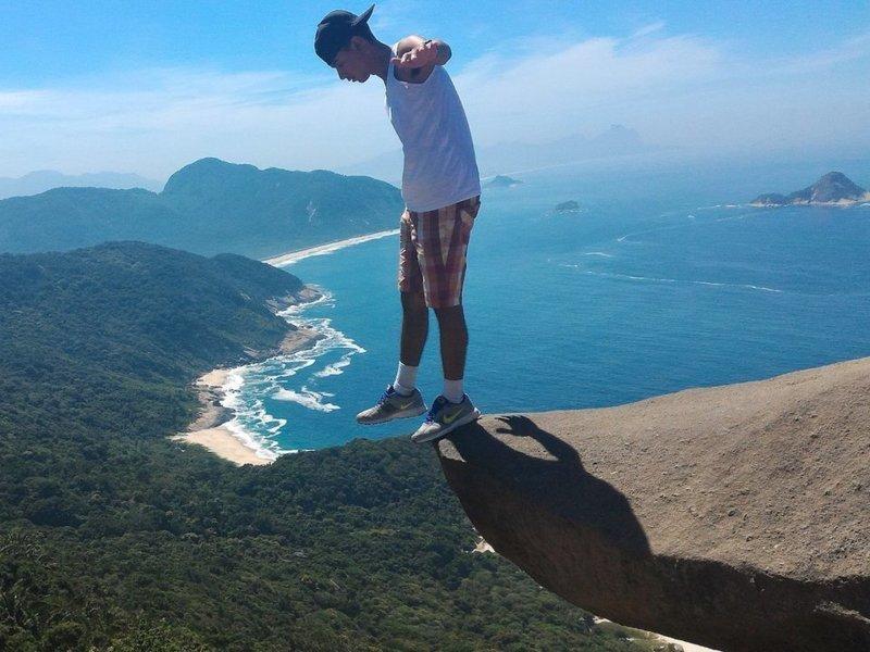 Педра до Телеграфо - Рио-де-Жанейро, Бразилия Весь Мир, иллюзии, интересно, необычно, оптические иллюзии, путешествия, удивительно, удивительное рядом