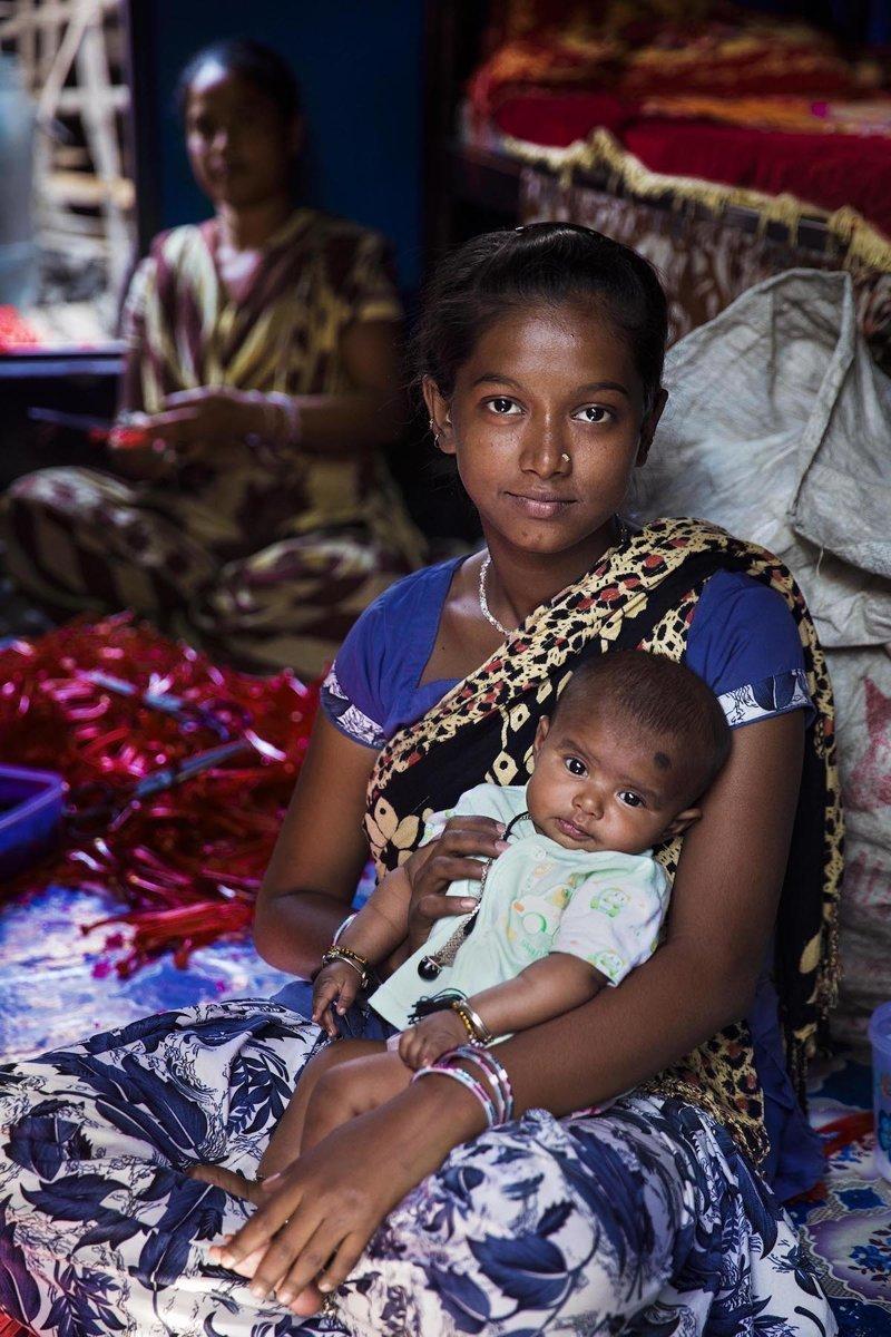 Калькутта, Индия   Михаэла Норок, в мире, дочь, красота, люди, маты, фотопроект