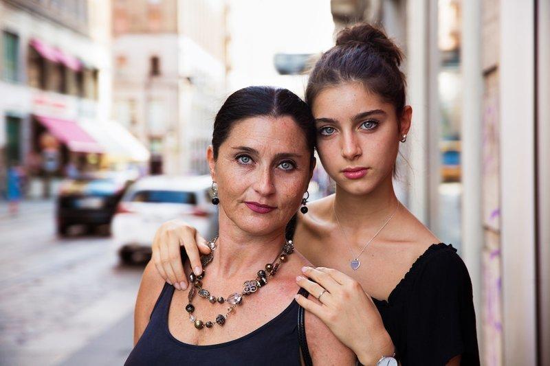 Милан, Италия   Михаэла Норок, в мире, дочь, красота, люди, маты, фотопроект