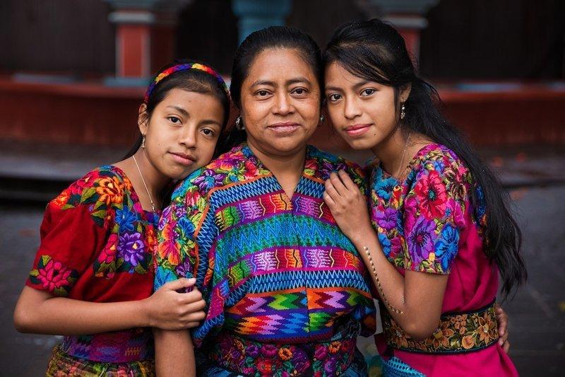 Гватемала   Михаэла Норок, в мире, дочь, красота, люди, маты, фотопроект