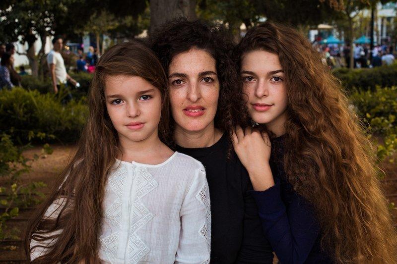 Тель-Авив, Израиль   Михаэла Норок, в мире, дочь, красота, люди, маты, фотопроект