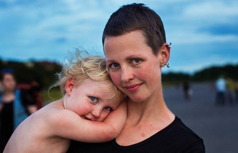 Берлин, Германия  Михаэла Норок, в мире, дочь, красота, люди, маты, фотопроект