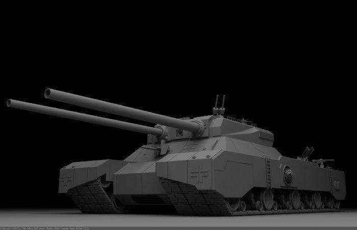 «Ratte» - ужасный танк-исполин Третьего рейха, который должен был изменить ход истории военная техника, вторая мировая, история