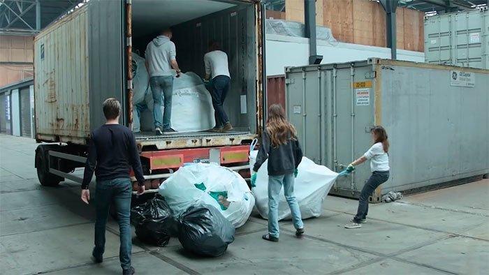 Материалы были отправлены на изучение в The Ocean Cleanup Боян Слат, барьер, мир, мусор, океан, очистка, пластик, проект