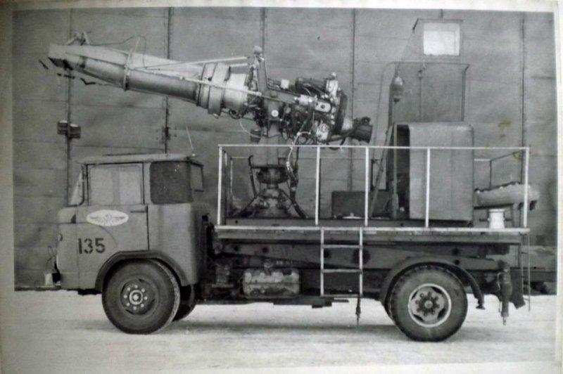 8. Тепловая машина для устранения наземного обледенения. Изготовлена в АТБ (авиационно-технической база) по рацпредложению. СССР, авто, автомобили, олдтаймер, ретро авто, ретро техника, ретро фото, советские автомобили