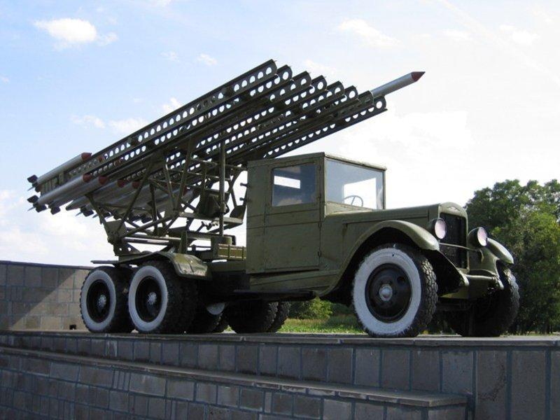 Реактивный снаряд М-13. 1941-1945, артиллерия, вов, война, катюша