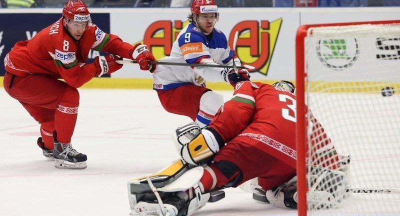 Россия разгромила Беларусь (6:0) и выиграла три матча подряд на ЧМ-2018 с общим счетом 20:0 БЕЛОРУСЫ, россия, хоккей