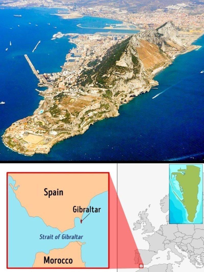 Гибралтар интересное, топ, факты