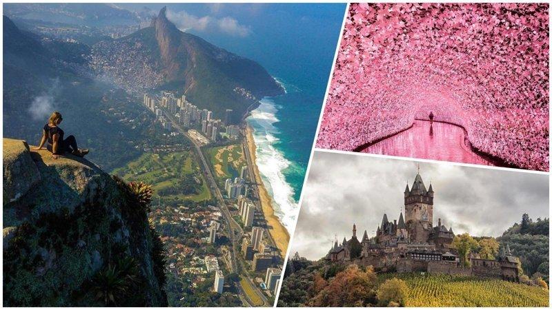 25 красивейших мест планеты, которые обязательно нужно посетить красивые места, мир, планета, природа, путешествия
