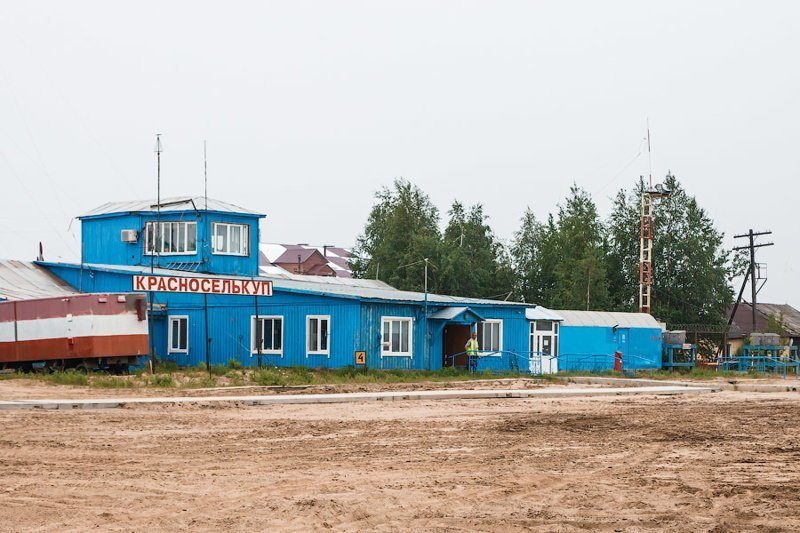 5. Красноселькуп, Ямало-Ненецкий автономный округ аэропорт, постройка, россия, самолет