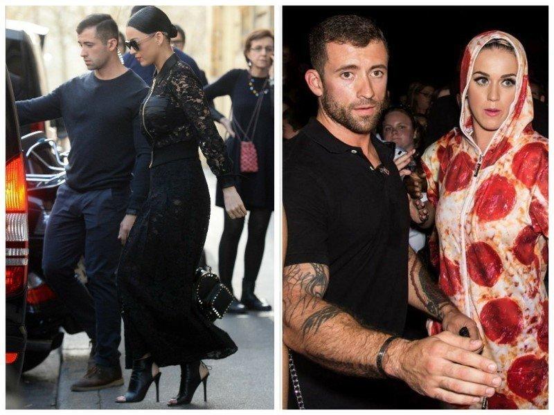Татуированный телохранитеь Кэти Перри Красавчики, защита, знаменитости, охрана, телохранитель