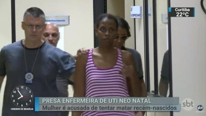 Бразильянка пыталась убить четырех младенцев: видео Simone Anjos dos Santos, ynews, бразилия, новорожденные, убийство