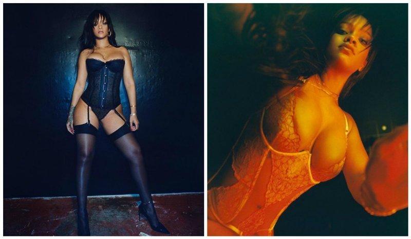 Рианна похвасталась бельём собственного производства ynews, девушки, знаменитости, интересное, нижнее бельё, рианна, фото