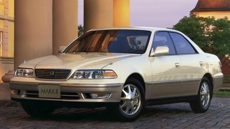 Тройку лидеров замкнула Toyota Mark (только какой, не уточняется)  ynews, авто, интересное, королла, машины, тойота, фото