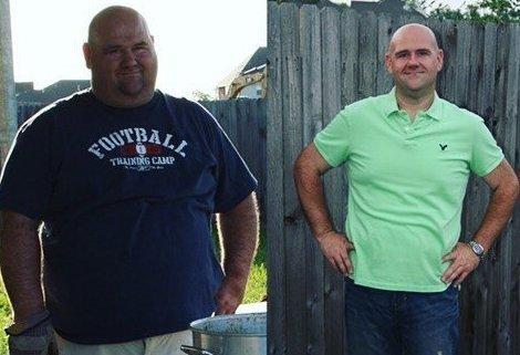 10. Стив из США потерял 41 кг  До и после похудения, до и после, похудение, трансформация, фото