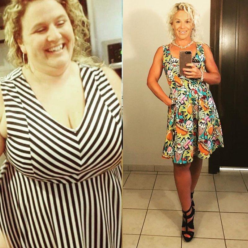 15. Кристи любила свое тело всегда, но похудев поняла, насколько прекрасна  До и после похудения, до и после, похудение, трансформация, фото