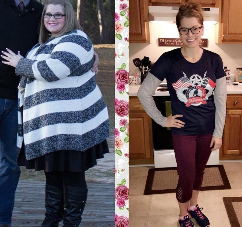 12. Алиса занимается кроссфитом, родила дочку, теперь она носит одежду на несколько размеров меньше  До и после похудения, до и после, похудение, трансформация, фото
