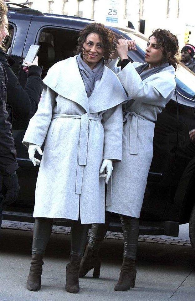 Приянка Чопра и Аджа Фрари голливуд, двое из ларца, дублеры, каскадеры, кино, кинозвезды, любопытно, похоже да не то же