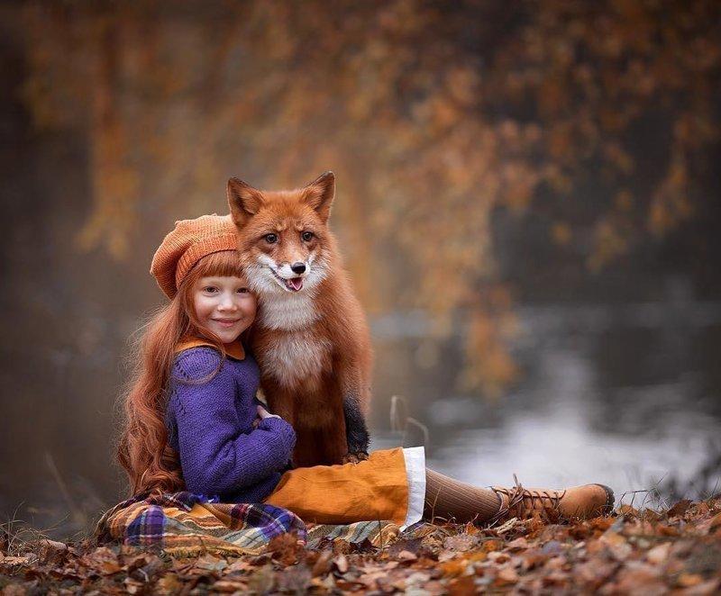 Мимимишность этой подборки просто зашкаливает дети, животные, красота, мимими, умилениe