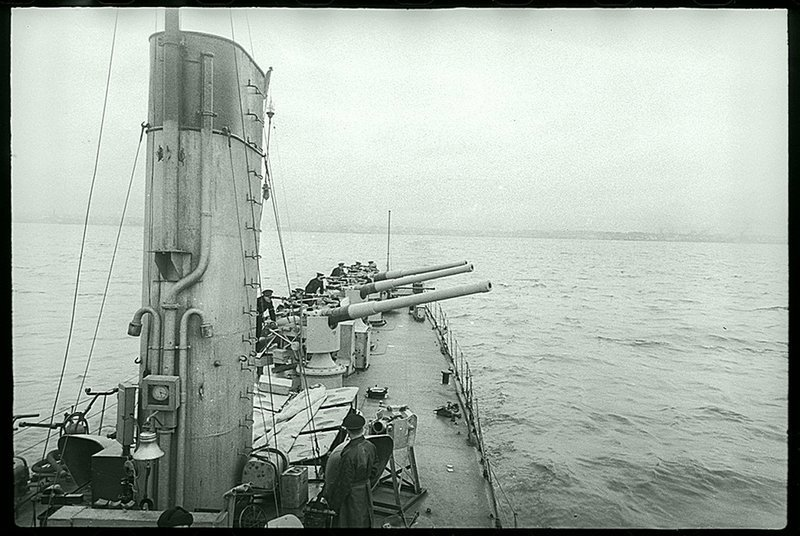 На N-м корабле, 1945. . Великая Отечественная  война, СССР, история