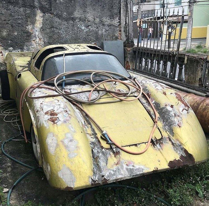 Кто-нибудь знает, что это за машина? авто, автомобили, заброшенные автомобили, машины