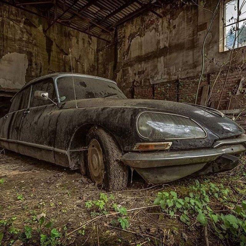 Citroën DS авто, автомобили, заброшенные автомобили, машины