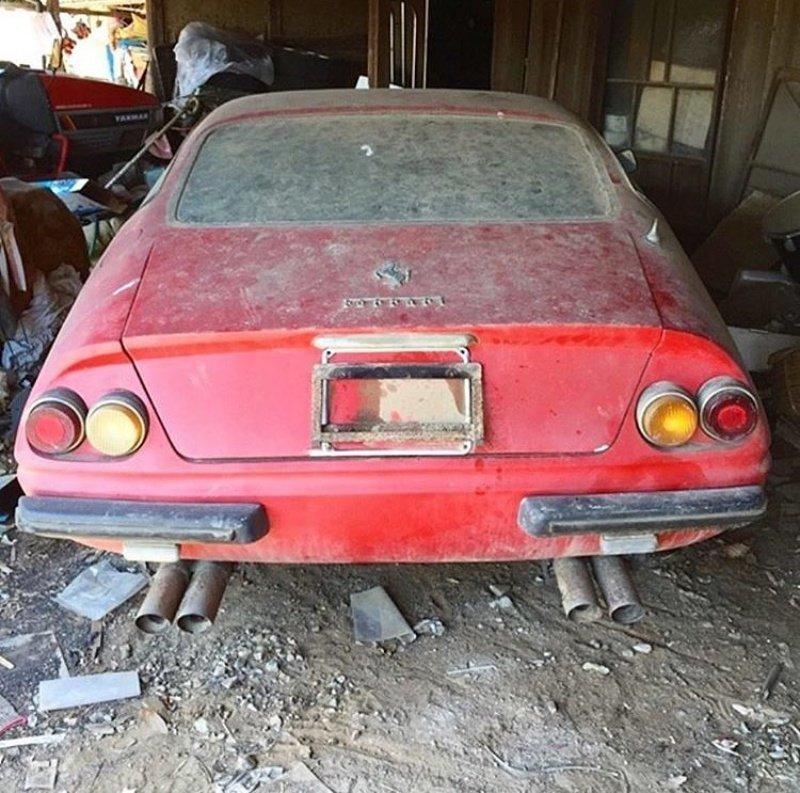 Ferrari авто, автомобили, заброшенные автомобили, машины