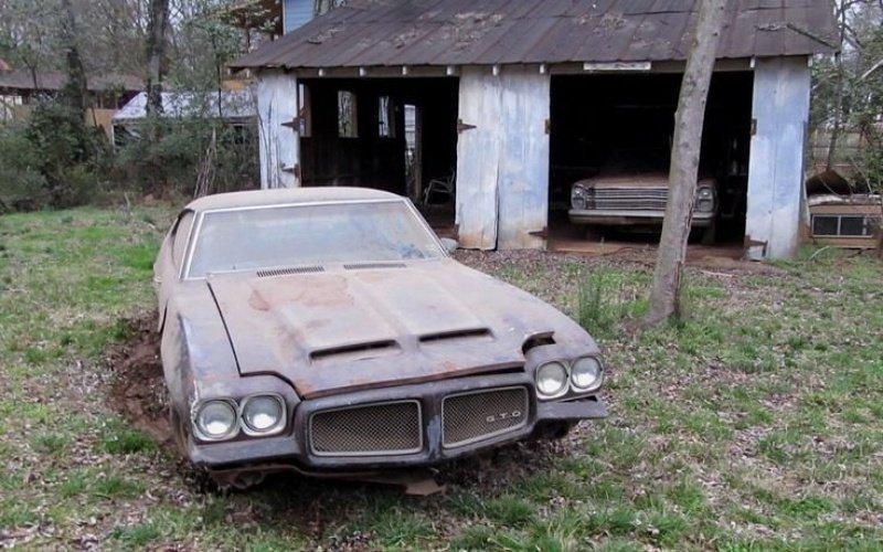 Pontiac GTO авто, автомобили, заброшенные автомобили, машины