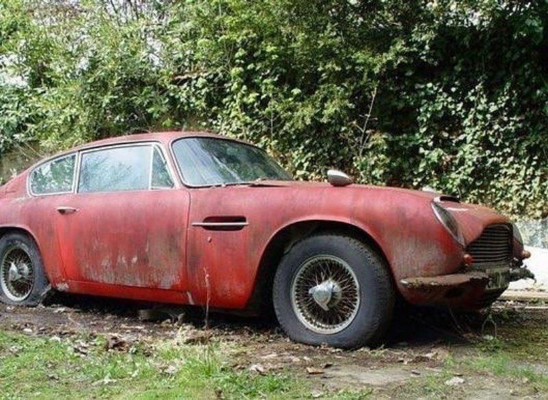 Aston Martin DB6 авто, автомобили, заброшенные автомобили, машины