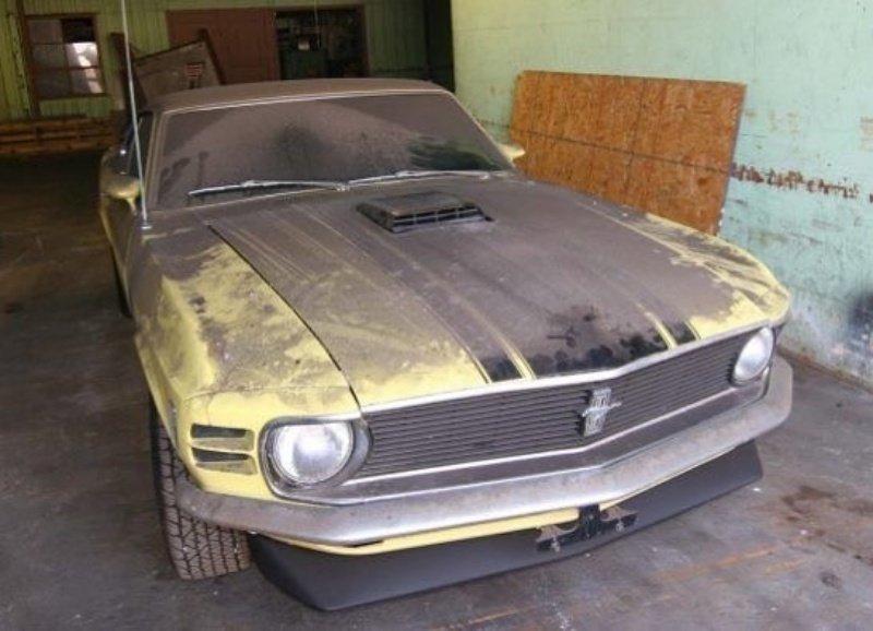 Ford Mustang Boss авто, автомобили, заброшенные автомобили, машины