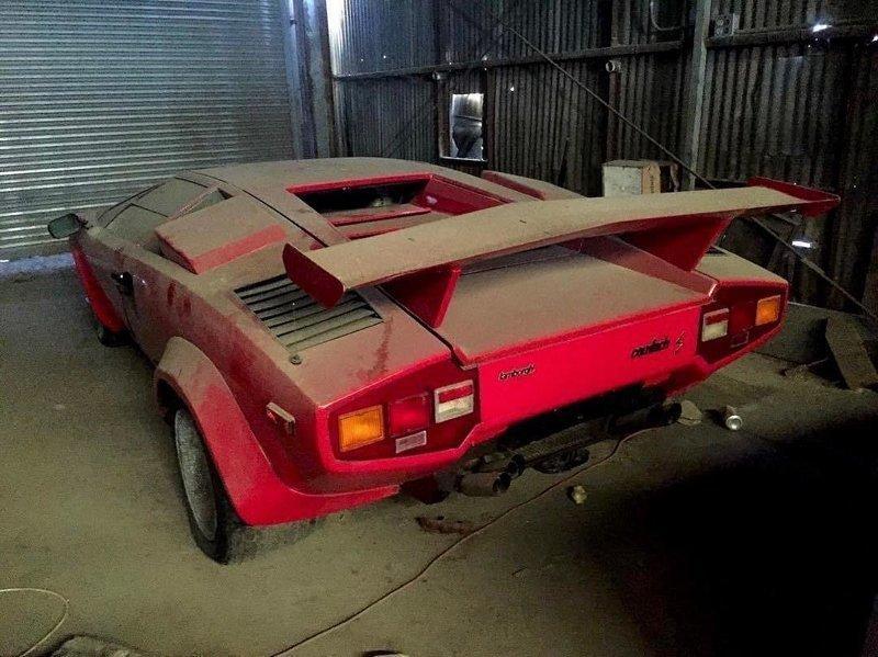 Lamborghini Countach авто, автомобили, заброшенные автомобили, машины