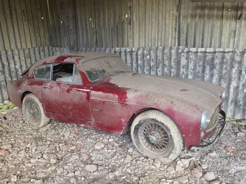 Aston Martin DB 2/4 авто, автомобили, заброшенные автомобили, машины