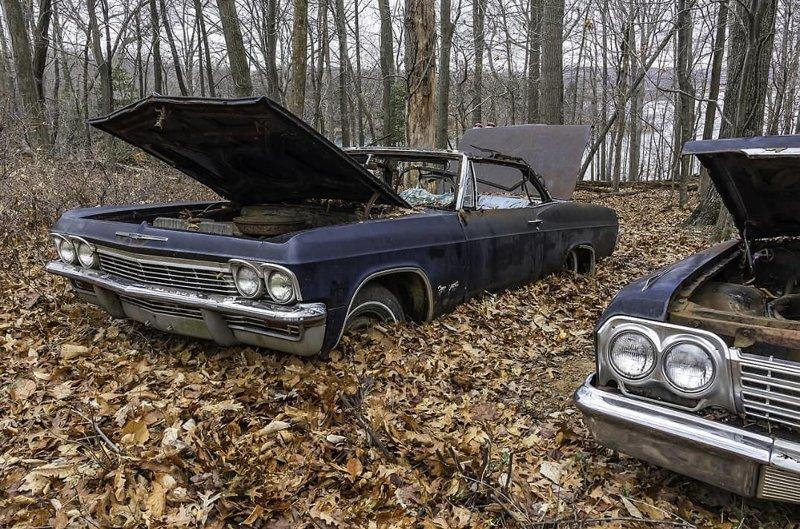 Забытые легенды: 25 фотографий, от которых все автомобилисты схватятся за сердце авто, автомобили, заброшенные автомобили, машины
