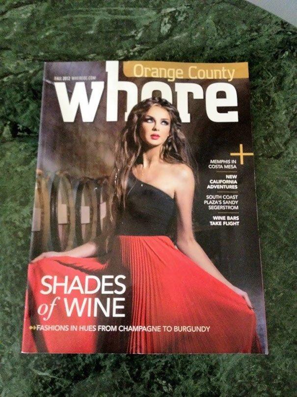 Если ваш журнал называется Where («Где»), нужно быть аккуратнее с фотографиями на обложке (Whore — «Шлюха»). приколы, тексты, фото