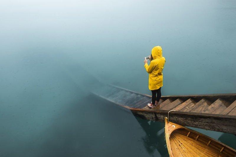 Озеро Брайес, Италия Кругосветное путешествие, интересно, мир в кармане, от Земли до Луны, приключения, путешествия, страны и города, увлекательно