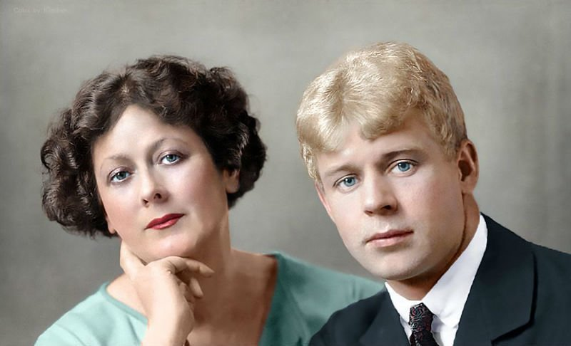 От Распутина до Высоцкого: знаменитые лица в цвете колоризация, личности, портреты