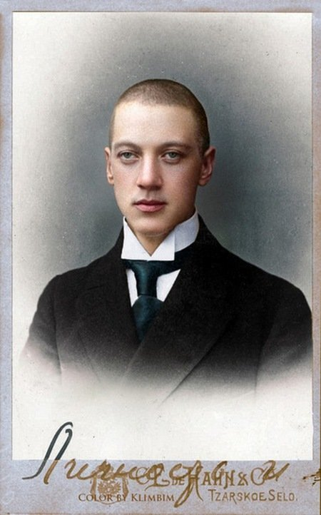Николай Гумилев. колоризация, личности, портреты