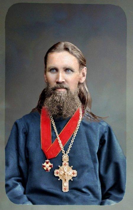 Святой праведный Иоанн Кронштадтский. колоризация, личности, портреты